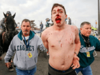 WATCH: Police Called in to Break Up Bloody Fight at Eagles' Lincoln Financial Field