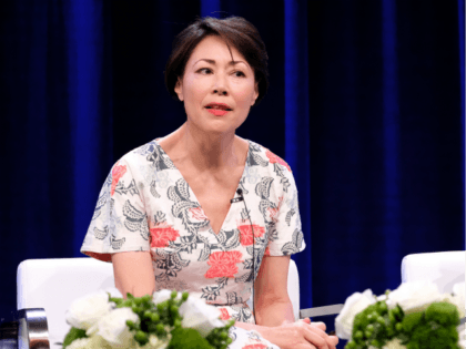 Executive producer/reporter Ann Curry and Reiko Nagumo of 'We'll Meet Again' speak onstage during the PBS portion of the 2017 Summer Television Critics Association Press Tour at The Beverly Hilton Hotel on July 30, 2017 in Beverly Hills, California. (Photo by Frederick M. Brown/Getty Images)