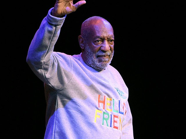 FILE - In this Nov. 21, 2014 file photo, comedian Bill Cosby waves to the crowd as he walks onto the stage at the beginning of his performance at the Maxwell C. King Center for the Performing Arts, in Melbourne, Fla. For five decades, Bill Cosby maintained a busy standup …