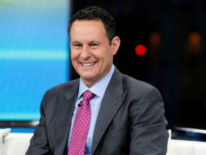 "Co-host Brian Kilmeade appears on the ""Fox & friends"" television program in New York Wednesday, Jan. 17, 2018. (AP Photo/Richard Drew)"