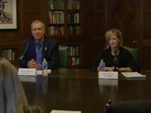 Bruce Rauner and Jeanne Ives (Chicago Tribune / Facebook)