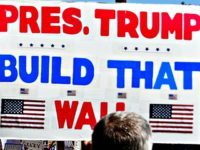 Build that Wall sign