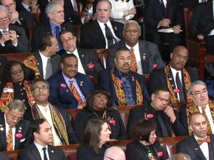Left-Wing Media Laud Congressional Black Caucus Members Who Didn't Applaud Trump Touting Black Unemployment