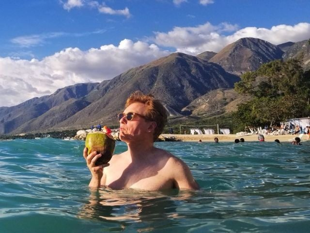 Conan O'Brien visited Haiti and stayed in a luxury resort to prove the country is a wonderful place.