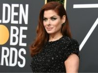 Actress Debra Messing arrives for the 75th Golden Globe Awards on January 7, 2018, in Beverly Hills, California. / AFP PHOTO / VALERIE MACON (Photo credit should read VALERIE MACON/AFP/Getty Images)