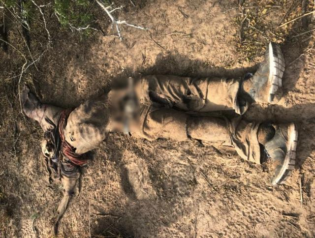 Body of a deceased migrant found in Brooks County, Texas, on 1-21-18. (Photo: Brooks County Sheriff's Office)