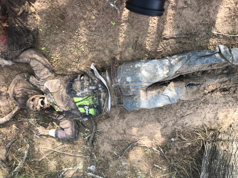 Body of deceased migrant found in Brooks County on 1-21-28. (Photo: Brooks County Sheriff's Office)