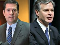 Devin Nunes, Christopher Wray, FBI