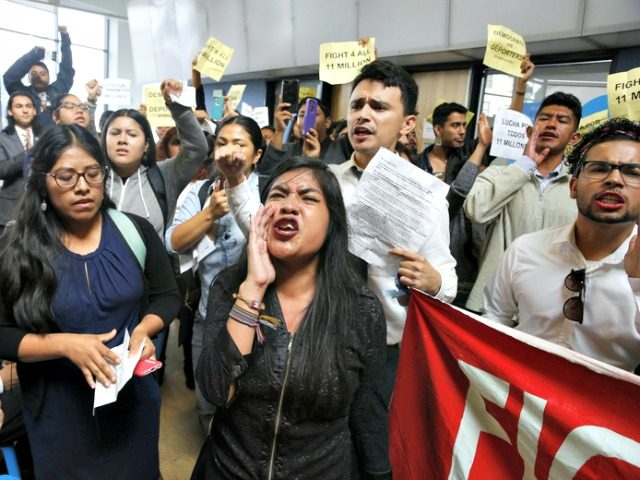 Dreamers Storm Government Offices