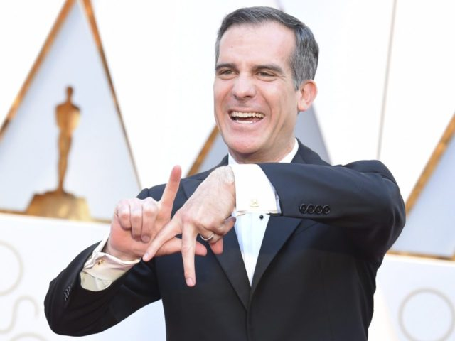 """c841ae532c2 Los Angeles Mayor Eric Garcetti referred to the City of Angels as """"the east  coast of China"""" on Thursday while speaking to CNBC about his city's bid to  land ..."""