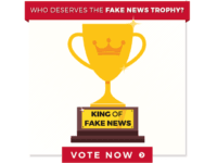 President Donald Trump Reveals 11 Fake News Awards, CNN Big Winner