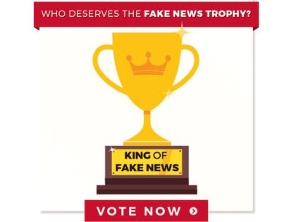President Donald Trump Reveals 11 Fake News Awards, CNN Big Winner