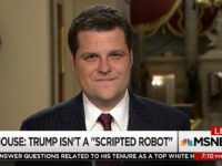 GOP Rep Gaetz: Contents of Intelligence Memo Will 'Shock the Conscience of This Country'