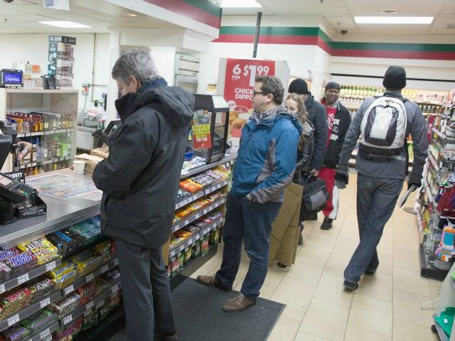 Immigration officials serve inspection notices at 7-Eleven stores