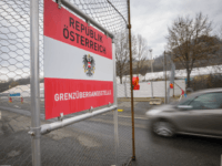 A picture taken in the village of Spielfeld, Austria, on February 20, 2017 shows a border crossing at the Austrian-Slovenian border. / AFP / Rene Gomolj (Photo credit should read RENE GOMOLJ/AFP/Getty Images)