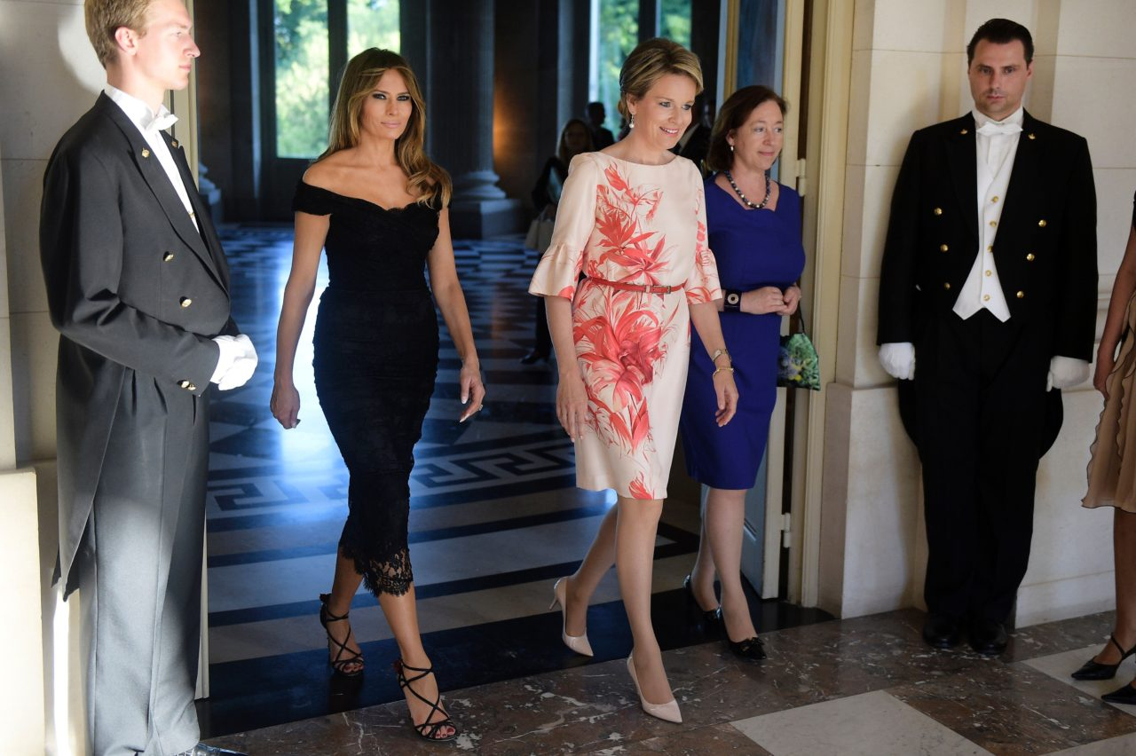 Fashion Notes First Lady Melania Trump S 10 Most Fabulous
