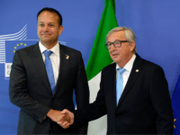 Leo Varadkar and Jean-Claude Juncker