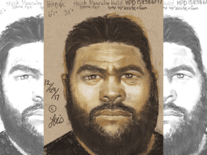 Houston Robbery Suspect - HPD Composite Drawing