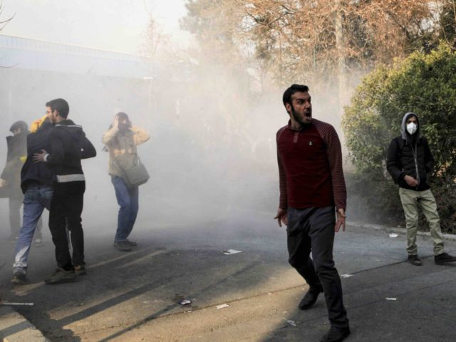 Iran protests (Associated Press)