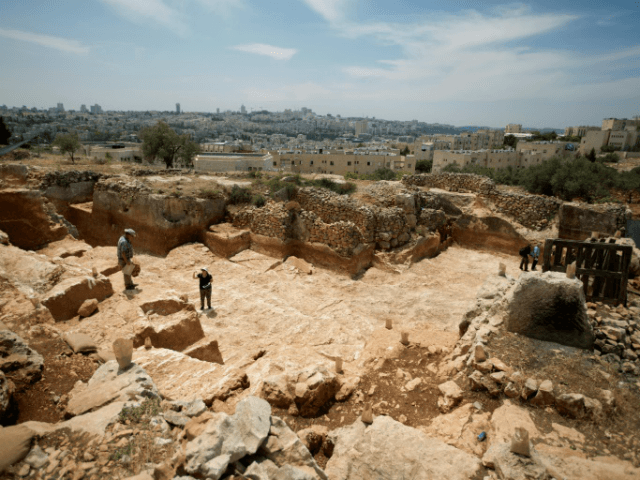 AFP/File | Israeli archaeologists work at an excavation site near Jerusalem