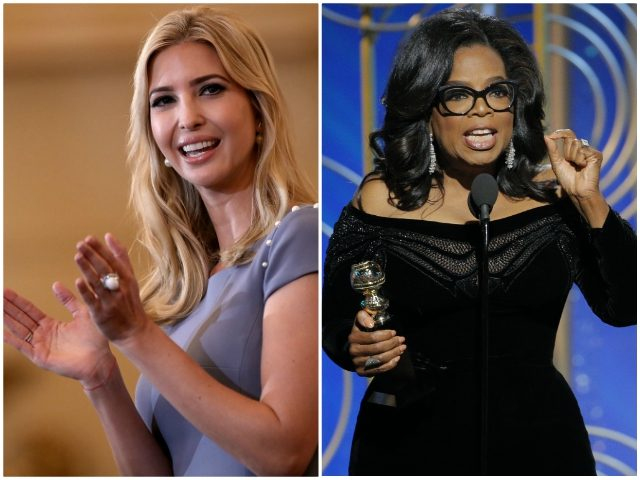 Standing O for Oprah at Golden Globes