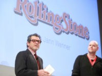 Rolling Stone Founder Jann Wenner and Spotify Founder and CEO Daniel Ek attendsSpotify knocks it out of the park at Stephen Weiss Studio on November 30, 2011 in New York City. (Photo by Charles Eshelman/Getty Images for Spotify)