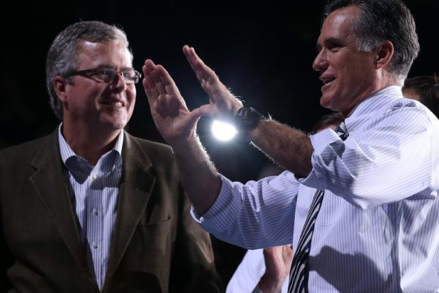 Jeb! and Romney