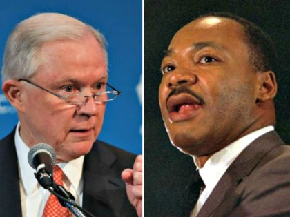 Jeff Sessions, Martin Luther King