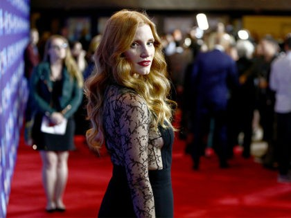 PALM SPRINGS, CA - JANUARY 02: Jessica Chastain attends the 29th Annual Palm Springs International Film Festival Awards Gala at Palm Springs Convention Center on January 2, 2018 in Palm Springs, California. (Photo by Rich Fury/Getty Images for Palm Springs International Film Festival )