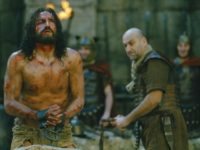 Jim Caviezel and Dario D'Ambrosi in The Passion of the Christ (Twentieth Century Fox, 2004)