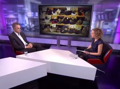 Jordan Peterson and Cathy Newman debate on Channel 4