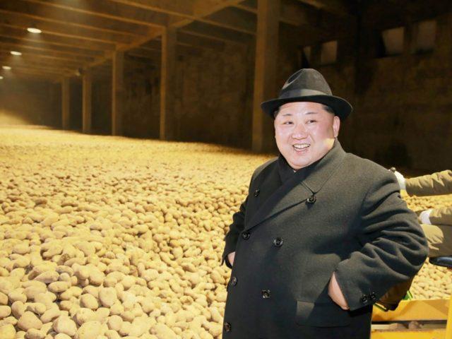 Kim Jong-un (STR / AFP / Getty)