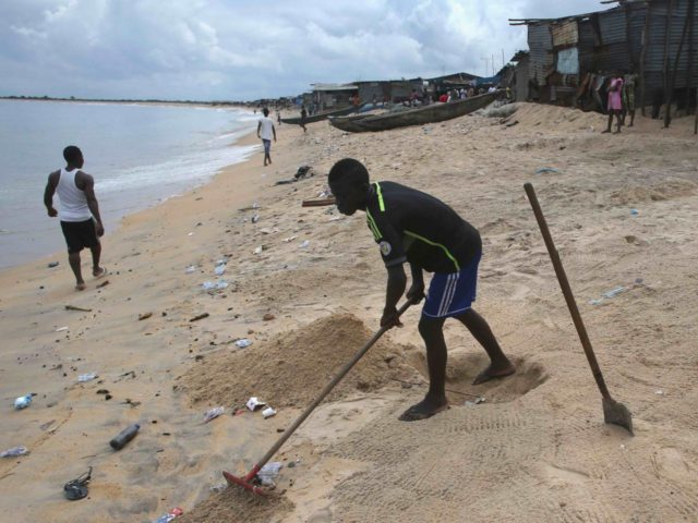Liberian shithole (John Moore / Getty)