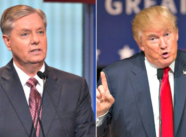 Lindsey Graham, Donald Trump