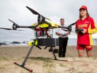 Australian Lifeguard Drone Saves Teenagers from Drowning at Sea