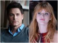 Rob Lowe Bella Thorne Getty