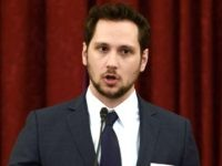 Matt McGorry speaks during #JusticReformNow Capitol Hill Advocacy Day at Russell Senate Office Building on April 28, 2016 in Washington, DC. (Photo by Leigh Vogel/Getty Images)