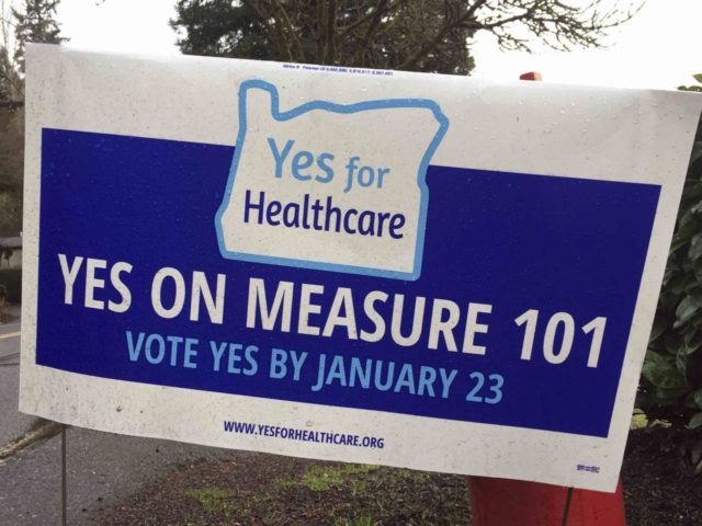 Measure 101 Oregon (Gillian Flaccus / Associated Press)
