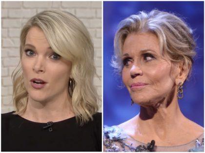 Megyn Kelly Jane Fonda NBC/Getty
