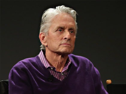 NEW YORK, NY - APRIL 23: Actor Michael Douglas takes part in Tribeca Talks: What We Talk About When We Talk About The Bomb during the 2016 Tribeca Film Festival at SVA Theatre 2 on April 23, 2016 in New York City. (Photo by Cindy Ord/Getty Images for Tribeca Film …