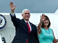 VP Mike Pence Leaves for Middle East Trip on Night of Impending Government Shutdown