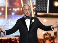 The Recording Academy and MusiCares President/CEO Neil Portnow speaks onstage during the 60th Annual GRAMMY Awards at Madison Square Garden on January 28, 2018 in New York City. (Photo by Michael Kovac/Getty Images for NARAS)