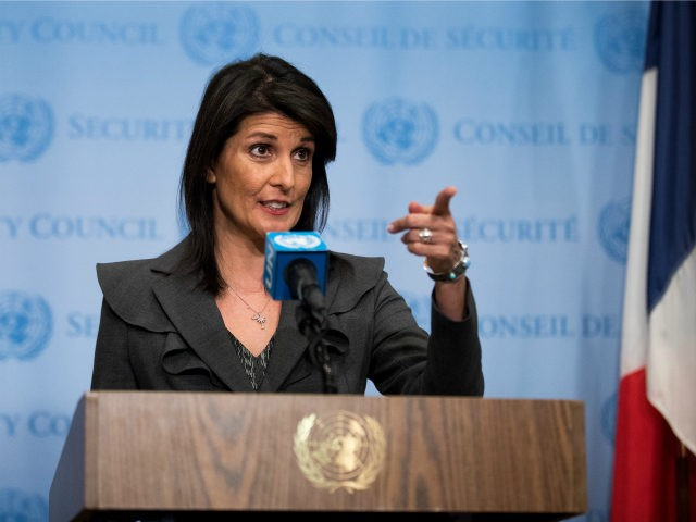 Amb. Nikki Haley Speaks Out on International Incidents