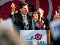 House Speaker Paul Ryan of Wis., speaks at an anti-abortion rally on the National Mall in Washington, Friday, Jan. 19, 2018, during the annual March for Life. Thousands of anti-abortion demonstrators gather in Washington for an annual march to protest the Supreme Court's landmark 1973 decision that declared a constitutional right to abortion. (AP Photo/Andrew Harnik)