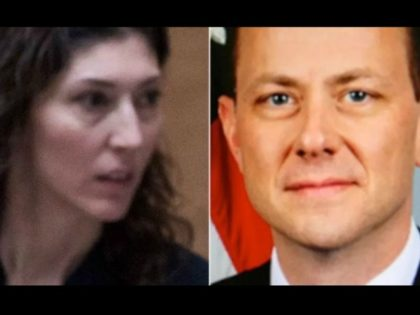 GOP Lawmakers: FBI Officials Peter Strzok and Lisa Page Texted About 'Secret Society' After Election