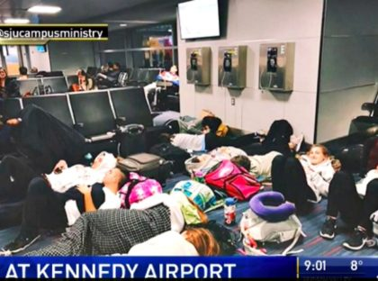 Planes Collide, Kennedy Airport
