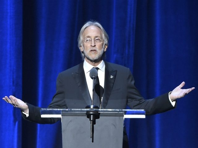 Neil Portnow speaks onstage at the 2018 MusiCares Person of the Year tribute honoring Fleetwood Mac at the Radio City Music Hall on Friday, Jan. 26, 2018 in New York. (Photo by Evan Agostini/Invision/AP)