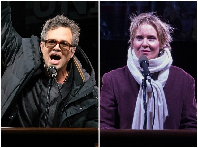 Mark Ruffalo Cynthia Nixon State of the Union Getty