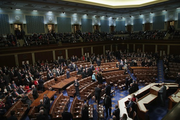 House Passes Spending Bill Ending Overnight Government Shutdown