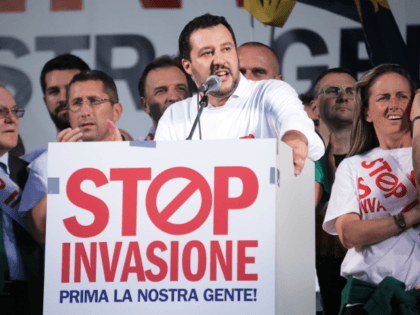 EXCLUSIVE – Hungary Backs Salvini's 'Gamechanging' Move to Shut Ports to Migrants, Brands EU Leaders All Talk